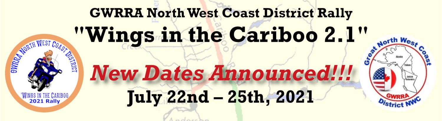 GWRRA North West Coast District 2020 Rally